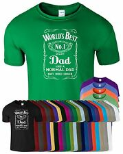 AWESOME SUPER DAD DADDY POPS TSHIRT FATHERS DAY Fancy Top Tee Funny Gift TShirt