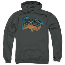 Batman Retro Dark Knight Mens Pullover Hoodie
