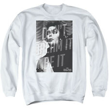 Rocky Horror Picture Show Be It Mens Crew Neck Sweatshirt White