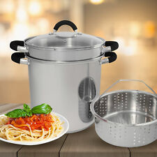 Cook Pro Stainless Stock Pot with Lid