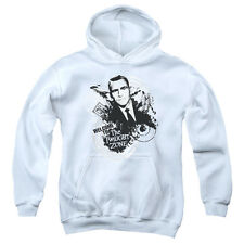 The Twilight Zone Welcome To Big Boys Youth Pullover Hoodie WHITE