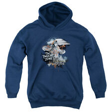 The Twilight Zone Science&Superstition Big Boys Youth Pullover Hoodie NAVY