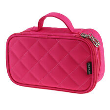 WATERPROOF Travel Cosmetic Makeup Storage Bag Toiletry Organizer DOUBLE LAYERS