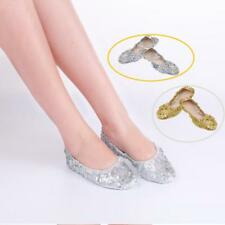 Belly Dance Shoes Foldable Professional Dance Footwear Outdoor Casual Shoes