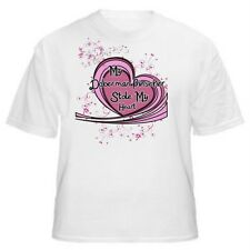 My Doberman Pinscher Stole My Heart Dog Lover T-Shirt - Sizes Small through5XL