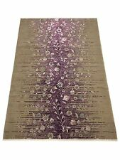 Soft Natural Dyed Turkish Bamboo-Wool Area Rug 500 Esme Collection by Benissimo