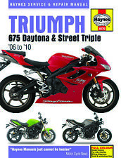 Triumph 675 Daytona and Street Triple Haynes Repair Manual (2006 thru 2010) 4876