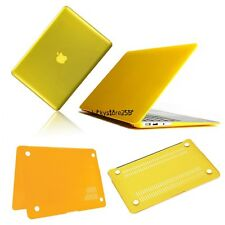 "Yellow Frosted/Crystal Plastic Hard Case For Apple Macbook Pro 13"" LKR801"
