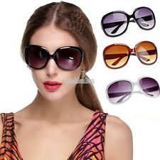 Retro Fashion Big Style Women's Vintage Shades Oversized Designer Sunglasses FS