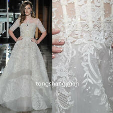 Lace Sequin Wedding Dresses White Ivory Bridal Ball Gowns 2017 Custom Size 2017