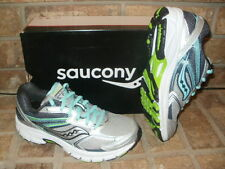 New Saucony Grid Cohesion 9 Ladys Running Shoe/Gray-Blue-Ctn