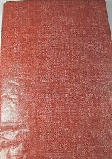 Flannel Back Vinyl Tablecloths Red Assorted Sizes Sq., Oblong & Round