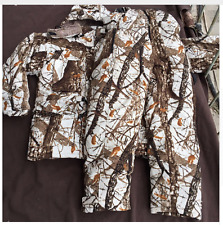Hunting Suit Snow Alpine Camouflage Thermal Mens Warm Jacket Pants Shooting Army