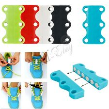 1 Pair  Novelty Sneaker Closure No-Tie Magnetic Casual Shoelace Shoe Buckles