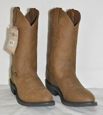 Mens Justin Brown JB1100 Leather Boots Crazy Cow NWT