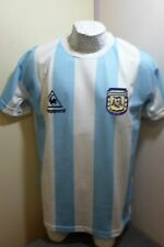 NEW VINTAGE Mexico WORLD CUP 86 ARGENTINA MARADONA 10 RETRO SOCCER JERSEY SHIRT
