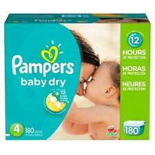 Pampers Baby Dry Diapers Size 4 180 Diaper Color Changing Kids Save Deal NEW