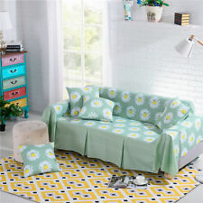 Nice Floral Polyester Sofa Cover Taul Couch Protector for 1 2 3 4 seater yzl