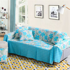 Nice Floral Polyester Sofa Cover Taul Couch Protector for 1 2 3 4 seater lshy