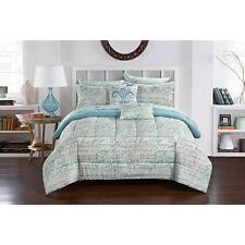 Casa Paris Bed in a Bag Bedding Set Full Queen King Size Comforter Shams Sheets