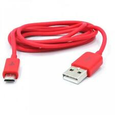 For SPRINT PHONES - RED 3FT USB CABLE RAPID CHARGE POWER WIRE SYNC DATA