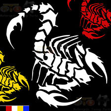 Scorpion vinyl decals Motorcycle Car helmet GAS tank stickers decorate decal