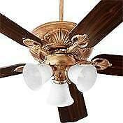 "Quorum International 7852567 Chateaux 80W 52"" Ceiling Fan - Blades Included,Anti"