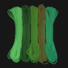 100 ft 9 Strand Luminous Glow in the Dark & Reflective Paracord Parachute Cord
