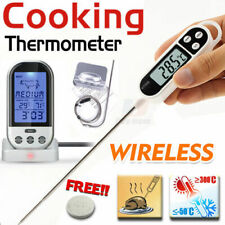 Digital Cooking Food Meat Kitchen Stab Wireless Remote Digital Thermometer PROBE