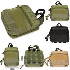 1000D Waterproof Nylon Tactical Military EDCTool Bag First Aid Molle Pouch Case