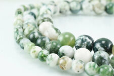 New Moss Agate Gemstone Round Beads 6mm/8mm/10mm Natural Stones Beads