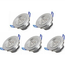 5X 3W LED Recessed Downlight High Power Ceiling Lamp Spot Light Warm/Cool White