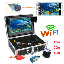 "9""LCD Monitor Under water Ice Fishing Video Camera Wifi Wireless APP Fish Finder"