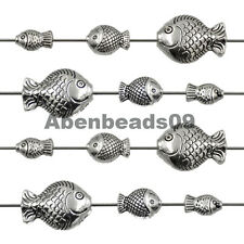 Tibetan Silver Fish Bracelet Connector Charm Beads For Jewelry Craft Making