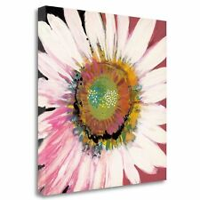'Sunshine Flower I' by Leslie Bernsen Painting Part on Wrapped Canvas