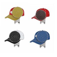 Fashion Golf Cap Pattern Alloy Golf Hat Clip with Magnetic Ball Marker