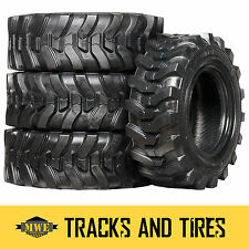 12-16.5 (12x16.5) Camso SKS 732 12-Ply Skid Steer Tires: Pick Your Rim Color