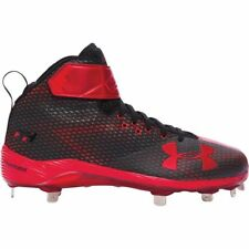 Under Armour Men's Harper One Mid ST Metal Baseball Cleats