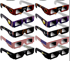 2017 Solar Eclipse Glasses, Safe Solar Viewing Protect Your Eyes 2-50 Pack mix #