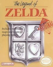 The Legend of Zelda (Nintendo Entertainment System,1987) nes game cartridge only