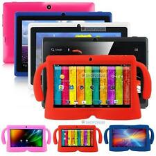 Android 4.4 8GB Dual Cameras Quad Core WiFi Kids Child Tablet PC +Bundle Case ^&