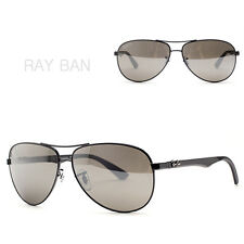 RAY-BAN RB8313 001-51 New Sunglasses Men Carbon Fibre Gradient from Italy