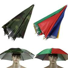 Hiking Golf Fishing Camping Novelty Headwear Cap Umbrella Hat UV Protect
