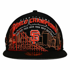 San Francisco Giants New Era MLB 8X World Series Champions 59FIFTY Cap Hat Times