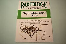 PARTRIDGE NEW CAPT HAMILTON TDH DRY TROUT FLY  FISHING HOOKS NEW CODE FOR YL3A