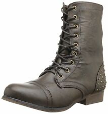 Madden Girl Women's Gallyyy Lace-Up Boot