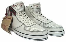 TRUE RELIGION TR156102-06W ACE HI LEATHER Mn's (M) White Leather Casual Shoes