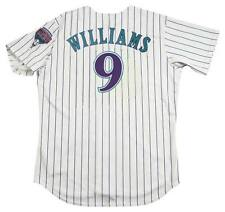 MATT WILLIAMS Arizona Diamondbacks 2001 Majestic Throwback Home Baseball Jersey