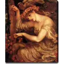 Dante Gabriel Rossetti 'A Sea Spell' Canvas Art