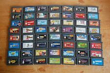 Nintendo Gameboy Advance - 50+ Games - Select From List - GBA, DS Lite